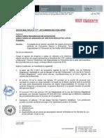 Oficio Multiple 110 Encargaturas 2014