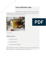 2607_Forno Artesanal a Gas