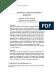 Transmision Transgeneracional Del Psiquismo