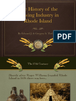 Rhode Island Brewery History