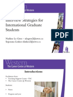 Job Prep for International Students