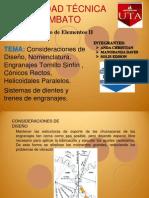 Expo engranajes diseño