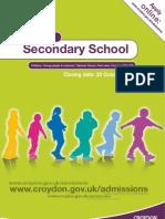 Croydon Secondary Schools