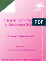 Sutton Secondary Schools