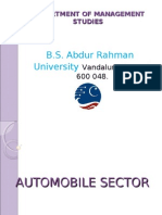 AUTOMOBILE SECTOR best ppt .ppt