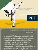 Caracteristicas de Las Clases en Taekwondo
