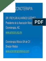 Dr Froylan Alvarado Ozonoterapia