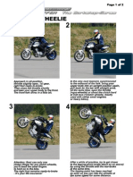 How to wheelie a motorcycle