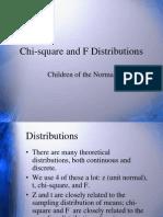 Chi-Square and uji F