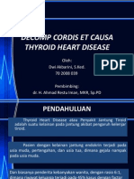 Decomp Cordis Ecausa Thyroid Heart Disease