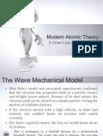 Modern Atomic Theory, Chemistry