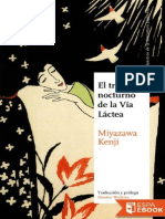 El Tren Nocturno de La via Lactea - Kenji Miyazawa