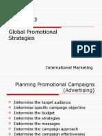 Global Promotional Strategies