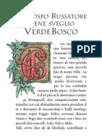 Il Rospo Russatore Tiene Sveglio VerdeBosco - Fiaba - Favola - Dino Olivieri