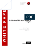 IBM -- Architecting Big Data Platforms