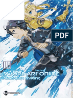 Sword Art Online 13 - Alicization Dividing