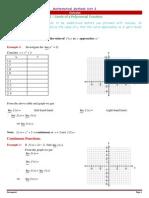 H2-12MM- Calculus - Limits Notes