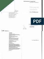 Discourse Analysis by H.G. Widdowson