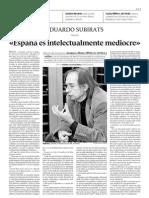 D051128 Entrevista a Subirats