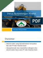 1. Pertumbuhan Perekonomian Indonesia Dan Dunia