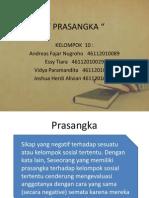 "PPT Psikologi Sosial ""Prasangka"" Universitas Mercubuana"