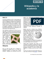 Wikipedia y la academia