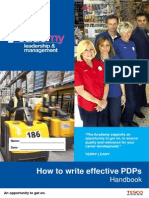 How to Write Effective PDP- Handbook