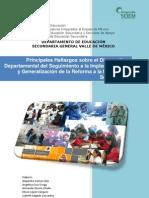 La Reforma de Secundaria a 3 años de su implantación, hallazgos en secundarias generales, Edo.Méx. 1a parte