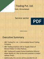 ABC Trading Pvt Ltd. (1) bplan of a shipping companybplan of a shipping company