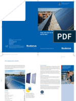 Buderus Solar Product Line Overview