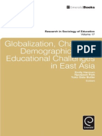 Emily Hannum Globalization, Changing Demographics, And Educational Challenges in East Asia Research in Sociology of Education 2010