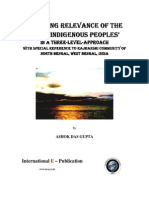 QUERYING RELEVANCE OF THE TERM 'INDIGENOUS PEOPLES' IN A THREE-LEVEL-APPROACH WITH SPECIAL REFERENCE TO RAJBANSHI COMMUNITY OF NORTH BENGAL, WEST BENGAL