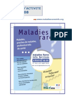 Maladies Rares Rapport Annuel 2008