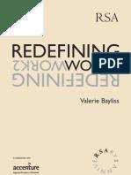 Redefining Work 1998