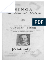 Singha - The Lion of Malaya