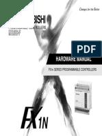 fx1n Mitsubishi Hardware Manual