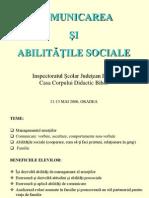 Comunicare Si Abilitati Sociale