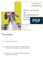 Construire son projet d'application mobile