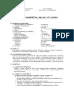 SILABO DE MATEMÁTICA I PARA CONTADORES