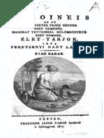 Peretsenyi Nagy László - Heroineis azaz a' nevezetes fejér népnek szép neméből, magokat tetteikkel külömböztető szép nemnek , élet-tárjok 1817.