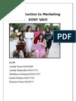 15687192 Marketing Report on Sony