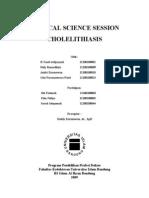 cholelithiasis.laporan