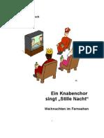 """Ein Knabenchor singt """"Stille Nacht"""" - Weihnachten im Fernsehen"""