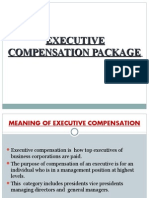 Executive Compensation Package 1