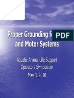 Prope rGrounding of VFD and Motor PPT
