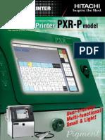 Hitachi PXR-P Brochure