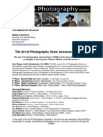 Art of Photography Show Winners