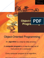Ch 1 Object-Oriented Programming
