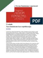 Razgovori o Novom Feminizmu