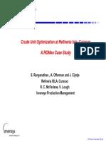 NPRA - NMR and Online Optimization at ISLA